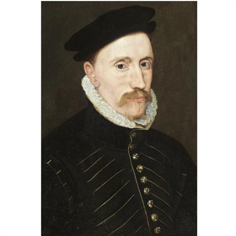 portrait of a gentleman probably sir thomas gresham 1518 1579 by steven van der meulen