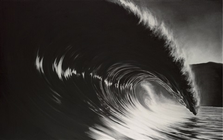 untitled black glass by robert longo