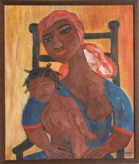 mother and child by b. adrienne