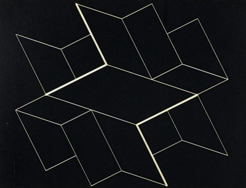 structural constellation by josef albers
