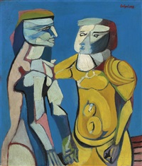 two figures by robert colquhoun