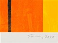 erker-suite (2 works) by günther förg
