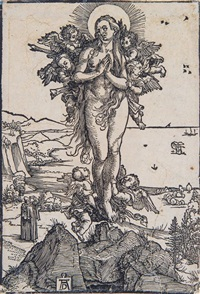 the ecstasy of st. mary magdalen by albrecht dürer
