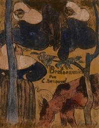 bretonneries - page de titre by émile bernard