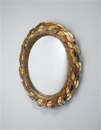 comète' mirror by line vautrin