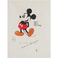 mickey mouse by walt disney