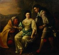 vertumne et pomone (d'après les métamorphoses d'ovide) by flemish school (17)