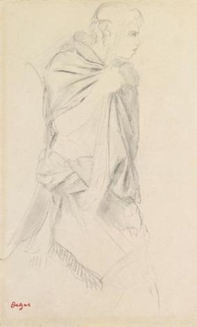 le pâtre étude pour la fille de jephté by edgar degas