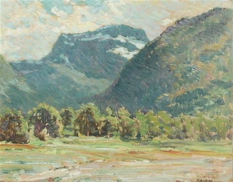 mountain valley by walter griffin