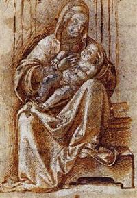 vierge à l'enfant by antonio badile
