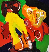 mother and child by karel appel