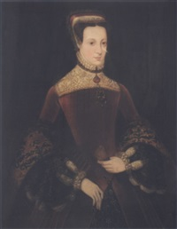 portrait of mary queen of scots by hans eworth