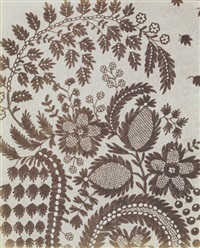 untitled - lace by william henry fox talbot