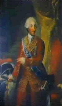 retrato de carlos iii by gines de aguirre