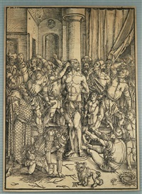 the flagellation of christ by albrecht dürer