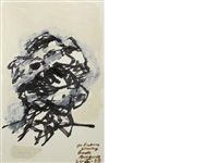 study for a self-portrait by frank auerbach