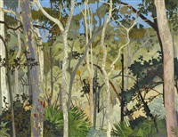 eucalypts by cressida campbell