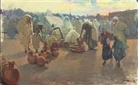 le marché des potiers by dario mecatti