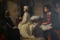 beatrice de cenci and guido by achille leonardi