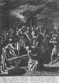 die gefangennahme christi by willem outgertsz akersloot