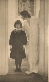 blessed art thou among women (from camera work) by gertrude kasebier