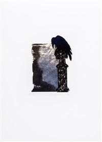 edgar allen poe (portfolio of 20) by ivor abrahams