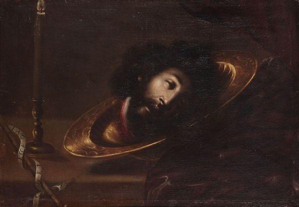 tête de saint jean baptiste by juan de valdés leal