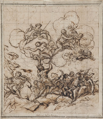 soggetto allegorico by anton domenico gabbiani