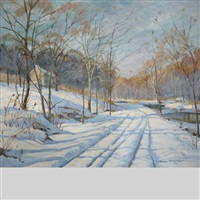 cobbs creek road by wilmer richter