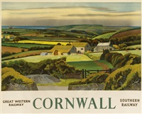 cornwall, gwr, southern by adrian paul allinson