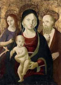 madonna con bambino by giacomo pacchiarotti