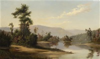hudson river valley by franklin b. de haven