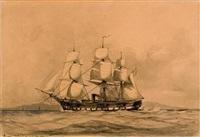 "fregate ""sjelland"" by ioannis (jean h.) altamura"