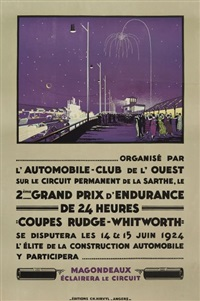 2eme grand-prix d'endurance de 24 heures/coupes rudge-whitworth by h.a. volodimer