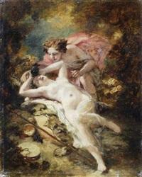bacchus et erigone by nicolas françois octave tassaert