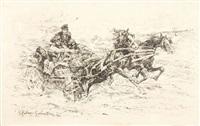 sploszone konie by stanislaw bohusz-siestrzencewicz