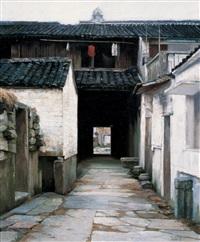 land with house by li zhongliang