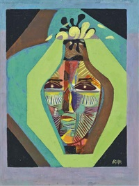 the blossoming head by eileen agar