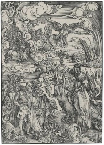 the babylonian whore from the apocalypse by albrecht dürer