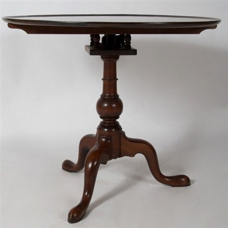 chippendale mahogany tea table late 18th c