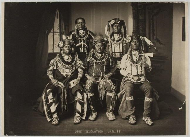 otoe missouri delegation by john k hillers