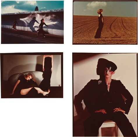 selected images (5 works) by guy bourdin
