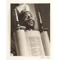 from a portfolio of black jews in america (set of 10) by alexander alland