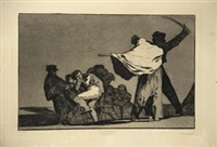 l'art (suite of 4) by francisco de goya