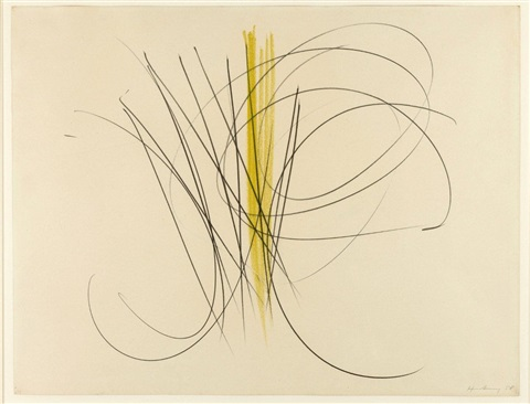 sans titre by hans hartung