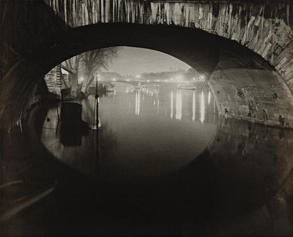 le pont du carrousel by brassaï