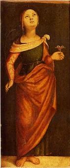 sainte lucie by bernardino di bosio zaganelli