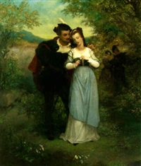 faust und marguerite by gustave staal