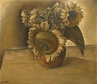 zonnebloemen by joseph albert