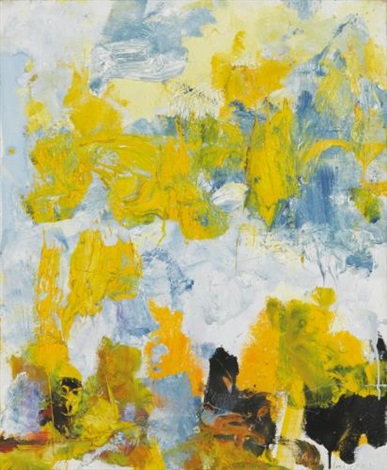 manhattan by joan mitchell